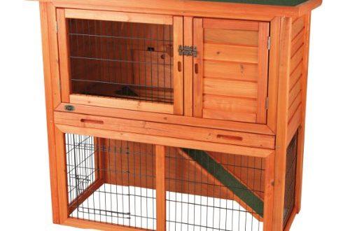 Trixie Natura Kaninchenstall mit Freigehege, 104x97x52 cm